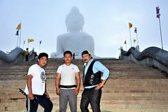 Manoj Rana with John & Raman Gurung from Pokhara 16 sept 2016 visited Big Buddha (James Bespoke Suit Phuket Thailand) Tags: manoj rana with john raman gurung from pokhara 16 sept 2016 visited big buddha