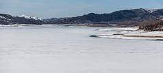 Lago di Campotosto (alessandropellegrino2) Tags: italy abruzzo inverno winter white bianco snow ice lake diga neve giaccio lago campotosto