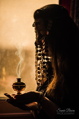 Ethereal - soul of a bellydancer (samir.beorn) Tags: bellydance desert monochrome silhouete backlight portrait egypt