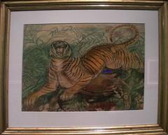 Tigre reale - Ligabue - 1941