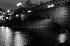 Bridge Week - Ilfrod Delta 400 (magnus.joensson) Tags: sweden swedish norrköping bridge blackandwhite monochrome nikon fm3a voigtländer 58mm sl ilford delta 400 adox adonal stand develop 1100 epson v800 scan bridgeweek