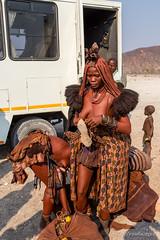 Packing Up 8859 (Ursula in Aus) Tags: africa himba himbavillage namibia otjomazeva