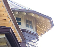 tower rafters (southofbloor) Tags: dormer eave tower broadview house edwardian riverdale riverside