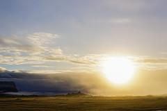 Raising sun in iceland (J-e-Y) Tags: levé de soleil raising sun iceland islande paysage landscape sony alpha 6000 cloud frog brouillard sigma 30mm f14 fosshotel nupar skaftafell