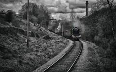 Meandering Scotsman (_J @BRX) Tags: pacific 4472 103 502 1472 nikon d5100 brunswickgreen lner a3 462 60103 flyingscotsman scotsman londonnortheasternrailway br britishrailways locomotive train kwvr keighleyworthvalleyrailway april yorkshire england uk worthvalley spring 2017 nrm nationalrailwaymuseum