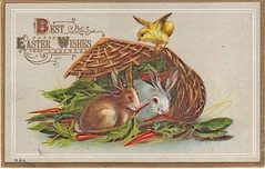 Easter Wishes (jack4pics) Tags: easter wishes postcard
