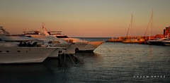 El Gouna ... This Is Egypt (Hazem Hafez) Tags: yachts gouna redsea luxury egypt hurghada marina sunset sky sea