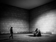 Mother (Hans-Jörg Aleff) Tags: berlin blackwhite mother streetphotography deutschland