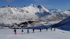 Unterwegs zum Rundfjellet 803m (Globo Alpin) Tags: lofoten norwegen skitouren winter 2017 skiflugreisen ausland