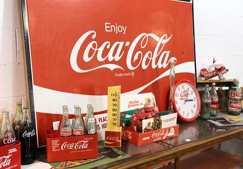 Coca-Cola Metal Sign ($212.80)