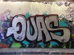 Quas graffiti, Leake Street (duncan) Tags: graffiti leakestreet quas