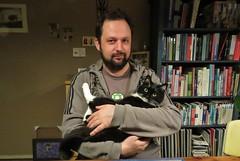 My two men (Elisa1880) Tags: nederland netherlands koschka stephan de prouw poes cat thuis home