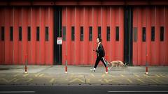 Passage (XBeauPhoto) Tags: dalston dog dogwalker eastlondon firestation london city street streetphoto urban