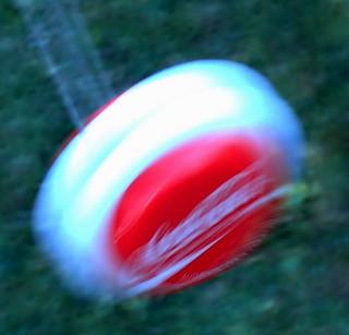 A YO-YO in motion...intentional blur...Macro Mondays