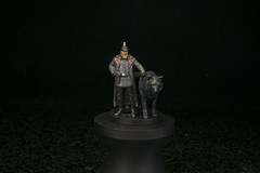 Gunter von Duisburg with Nacht (Jay Adan) Tags: scythe boardgame characters painted