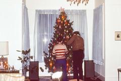 Karen with tree Christmas Charleston SC December 1977 (1).jpg (buddymedbery) Tags: holidays charleston southcarolina friends years 1970s 1977 family christmas unitedstates budgiehenderson karencrowmedbery