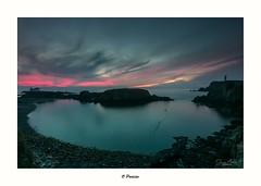O Portiño (Canconio59) Tags: largasexposiciones meiras otraspalabrasclave mar sea cielo sky costa coast galicia spain españa sunset ocaso atardecer