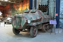 Maultier (Ronald_H) Tags: musée des blindés muséedesblindés 2017 film holiday france nikon fe expired maultier vehicle military
