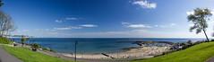 Lyme Regis Panorama_ (AnnMelanie) Tags: dorset lymebayjurassiccoast sea seascape landscape outdoors spring clouds sunlight