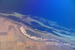 From Adelaide to Alice Springs, coastline (blauepics) Tags: australia australien northern territories adelaide coastline küste coast landscape landschaft beach strand water wasser sea meer aerial view luftaufnahme