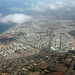View down to Natanja on approach to Tel Aviv