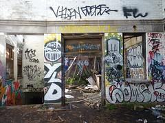 sgs16 (daily observer) Tags: philadelphia abandoned abandonedphiladelphia abandonesrailroadstation abandonedtrainstation urban urbandecay graffiti philadelphiagraffiti