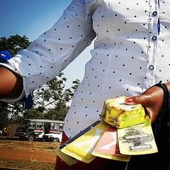 """Promote me today!""  #Day113 #Lategram #AirFreshener. (c) Marlene C. Francia 2017 . . . . . . . . . . . . . . . . #StreetMall #Streetphotography #SliceOfLife #Vignettes #peddler #hardworkingwoman #MakingALiving #informalsector #Informaleconomy"