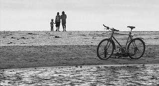 Bici and sea