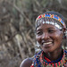During a visit to the Masai village