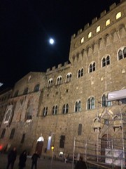 Full moon in Florence