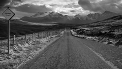 Road to Glenbrittle, Skye, Scotland (Chris Golightly) Tags: road glenbrittle fairy pools skye isle scotland cuillin mountains canon 6d