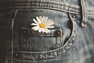 Jeans & flowers