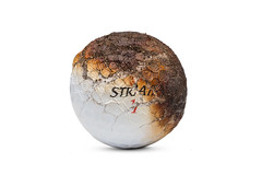 Scorched (Bill Hornstein) Tags: strata ball burned charred fire golf golfball hot melt scorched