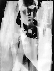 DAVID MARINOS - Exude 1 (DAVID MARINOS) Tags: david davidmarinos apollo marinos davidapollomarinos newage art 35mm film analog digital girl naked nude skin black white blackandwhite gray relax modern minimal 19 youth god water con contemporary glitch power rad radiant colors sky neon net beauty love