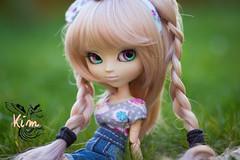 Kim - Pullip Nella Retro Memory (RozenPullip) Tags: wig obitsu leekeworld eyes pullip nella retro memory natural pink clothes hair doll