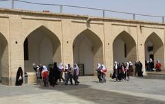 School trip (Wild Chroma) Tags: jame mosque jamemosque iran yazd children school girls