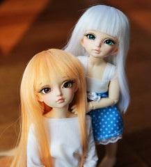 By your side ♥ (SunShineRu) Tags: littlefee lishe minifee miyu fairyland dolls yosd msd bjd ball jointed cute