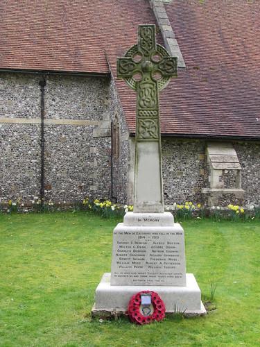 Eastbury: War Memorial (Berkshire)