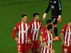 Atletico Players after the match (lcfcian1) Tags: leicester city atletico madrid lcfc atleti uefa champions league football sport uk england kingpowerstadium king power stadium leicestercity atleticomadrid leicestercitystadium uefachampionsleague championsleague footballmatch diegogodin fernandotorres 11 18417 quarter final