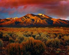 Twilight Magic (Santa Fe -- Taos Fine Art Photography) Tags: pps9 cuba twilight magic taos santa fe rocky mountain sangre cristo capture one texture