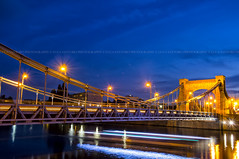 The Fast Way (Luca Santoro Photography ©) Tags: wroclaw breslavia bridge ponte long exposure