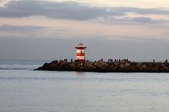 Lighthouse in The Hague (davidvankeulen) Tags: seaharbor harbor europe europa denhaag thehague hadze lahaye metropoolrotterdamdenhaag metropolerotterdamthehague provinciezuidholland zuidholland scheveningen stadsdeelscheveningen strand beach davidvankeulen davidvankeulennl davidcvankeulen urbandc vuurtoren lighthouse