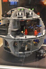 LEGO Death Star (radargeek) Tags: okc oklahomacity mall pennsquaremall winter january 2017 lego legos legostore deathstar starwars
