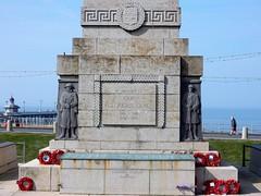 Blackpool Cenotaph (deltrems) Tags: blackpool lancashire fylde coast promenade cenotaph poppies monument