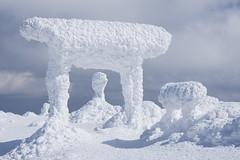 Frozen Shrine (bamboo_sasa) Tags: 蔵王 熊野岳 刈田岳 樹氷 御釜 宮城 山形 東北 白石 山 雪 冬 日本 zao kumanodake kattadake okama miyagi yamagata mountain snow winter japan ice monster tohoku shrine