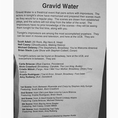 Monthly theater-geek laugh break. @gravidwater at @ucbtny, looking fwd to Scott Adsit & Michael Delaney, two of my improv faves (will miss @tambone tonight). (jennifer pozner) Tags: instagramapp square squareformat iphoneography uploaded:by=instagram moon
