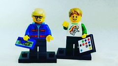 Check out the new custom Lego ipads exclusive to Brick Yourself! #brickyourself #makeyourselfinlego #legoipad, #lego #brickmandan
