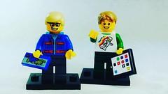 Check out the new custom Lego ipads exclusive to Brick Yourself! #brickyourself #makeyourselfinlego #legoipad, #lego #brickmandan