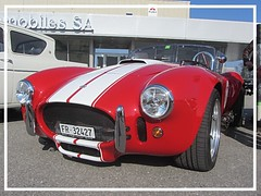 AC Cobra Replica, 1966 (v8dub) Tags: ac cobra replica 1966 schweiz suisse switzerland fribourg freiburg otm pkw voiture car wagen worldcars auto automobile automotive old oldtimer oldcar klassik classic collector