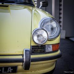 Porsche 911 (Alexis Cayot) Tags: alexis cayot canon 5d markii mark ii ef 16 35 28 l car porsche classic 911 square carre vintage sport auto light phare jaune yellow vaison piste circuit track torcy bourgogne saone loire